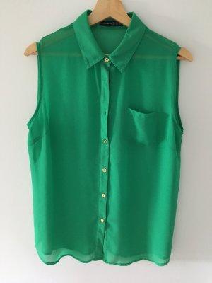Smaragd farbene Bluse