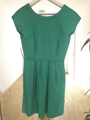 Smaragdfarbenes A-Linien Kleid von Hallhuber