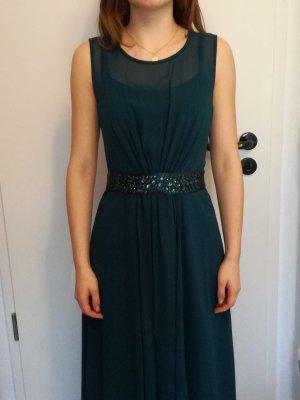 Smaragdgrünes Abendkleid