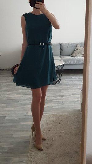 Smaragdgrünes Cocktailkleid