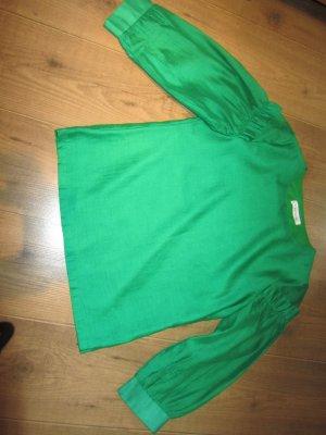 Smarlaldgrünfarbene Bluse