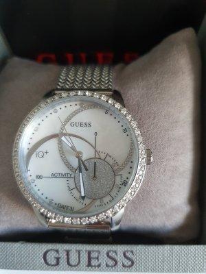 Guess Reloj con pulsera metálica color plata