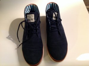 Smarte Boots in Velourleder