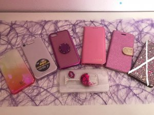 Mobile Phone Case pink-pink