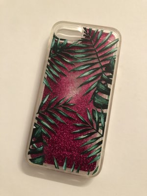 Mobile Phone Case magenta-dark green