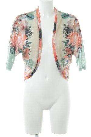 Smash Cardigan florales Muster Casual-Look