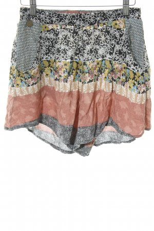 Smash High-Waist-Shorts florales Muster Hippie-Look