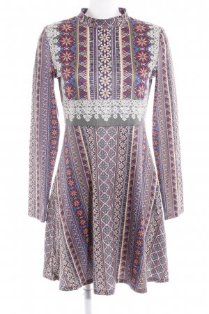 Smash Langarmkleid Mustermix Gypsy-Look