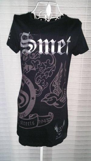 Smet Shirt schwarz/silber