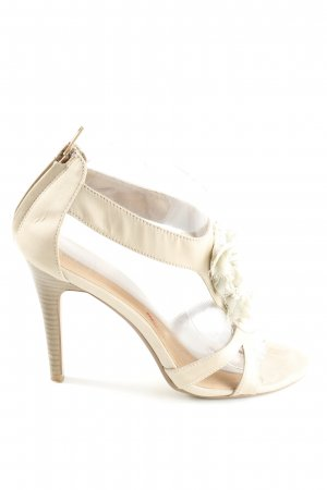 SMH High Heels cream elegant