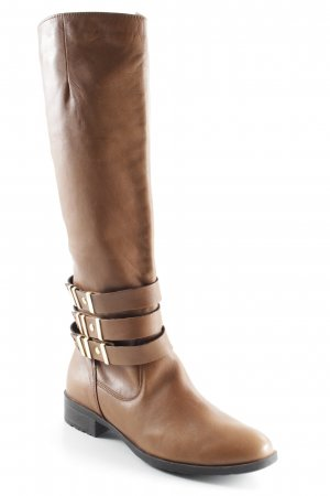 SMH Jackboots brown-gold-colored casual look