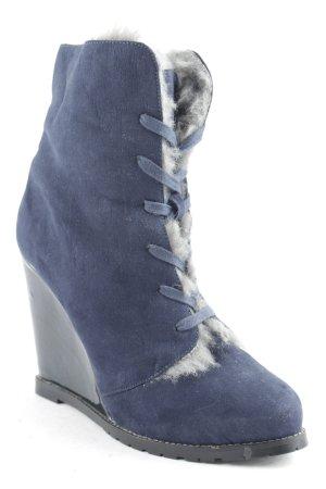 SMH Shoes Schnür-Stiefeletten Plüschfutter