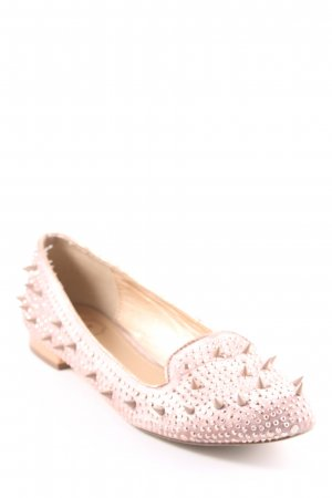 SMH Slippers rose-gold-coloured elegant
