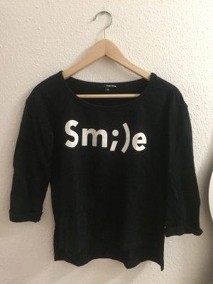 Smile Pullover von tally weijl Größe XS schwarz halbärmlig