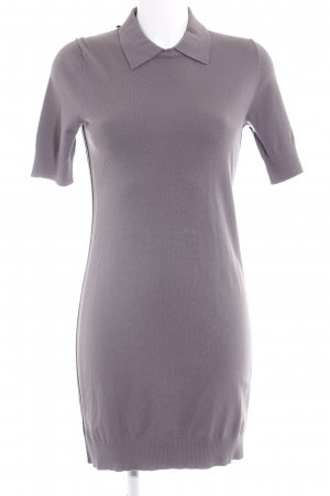 Smilla Polo Dress dark grey simple style