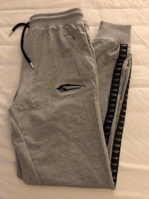 Pantalone da ginnastica grigio chiaro