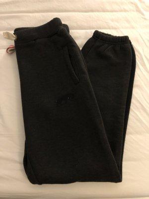 Pantalone da ginnastica grigio-nero