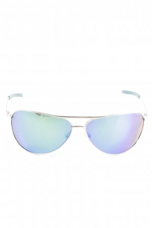 Smith Aviator Glasses blue-lilac casual look