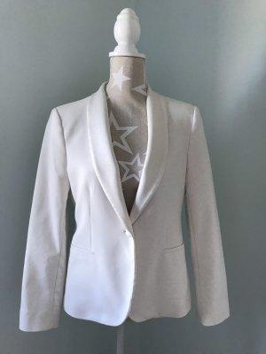 Zara Veste de smoking blanc cassé