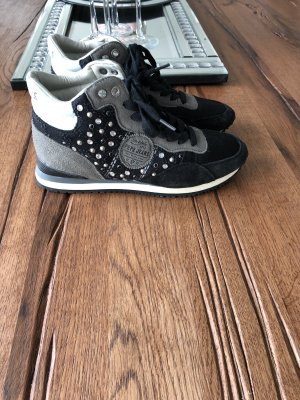 Pepe Jeans Zapatilla brogue negro-gris