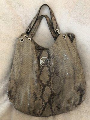 Snakeprint MK Lederhandtasche