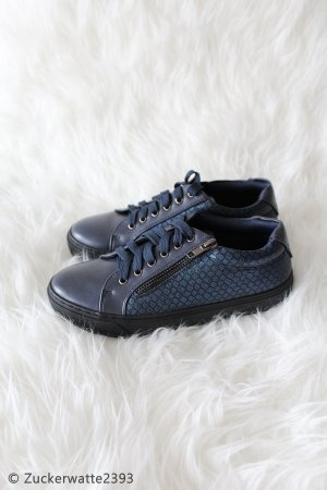 Slip-on Sneakers dark blue-petrol