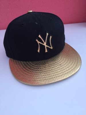 Snapback Cappy New Era schwarz gold