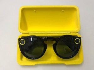 Bril zwart-geel kunststof