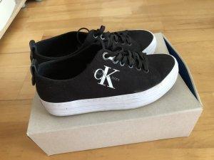 Calvin Klein Heel Sneakers black