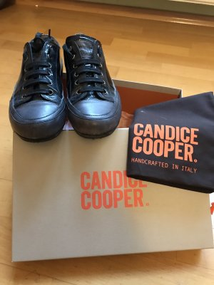 Candice Cooper Lace-Up Sneaker black-anthracite