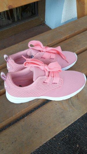 VTY Sneaker bianco-rosa