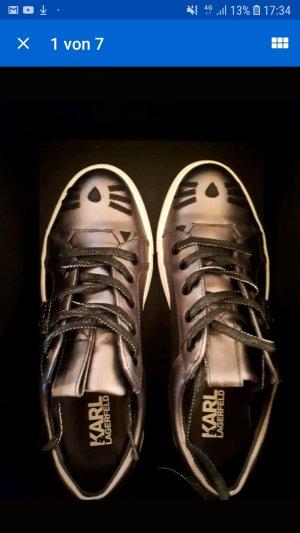 Sneaker 37 Karl Lagerfeld grau Metallic