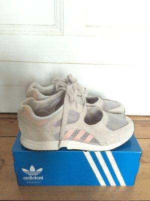 Sneaker, 39 1/3, Adidas Originals, Equipment Racing 91 W grau/ rosa, Damen