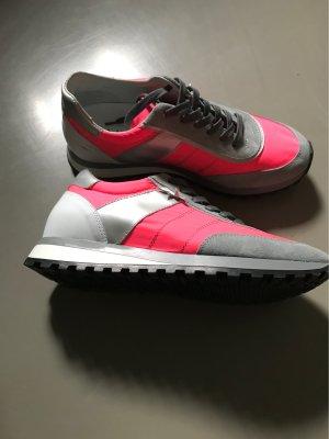 Sneakers met veters veelkleurig