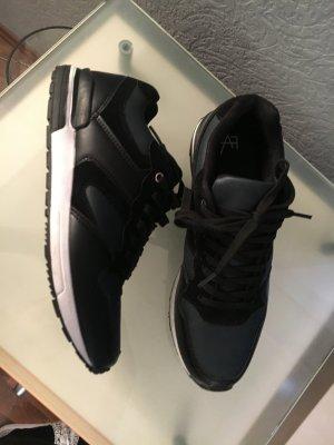 Sneaker 41 schwarz Flaschengrün Anna Field