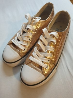 Arizona Lace-Up Sneaker gold-colored