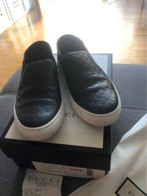 Gucci Zapatillas deslizantes negro