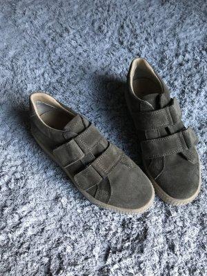 Tamaris Basket velcro kaki