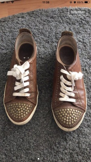 Frye Lace Shoes brown leather