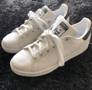 adidas stan smith Sneaker stringata bianco-blu scuro