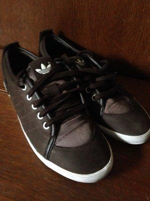 •• Sneaker ADIDAS braun Gr 38 2/3 ••