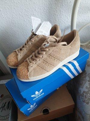 Sneaker Adidas Superstar Kork Wildleder Beige Neu mit Etikett 36 2/3