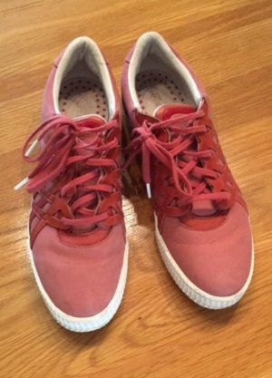Alexander McQueen / Puma Lace-Up Sneaker pink-white