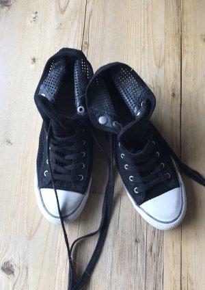 Sneaker Ash, Gr. 38, schwarz