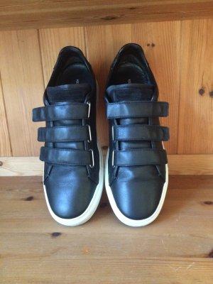 Kennel + schmenger Sneaker con strappi nero-bianco