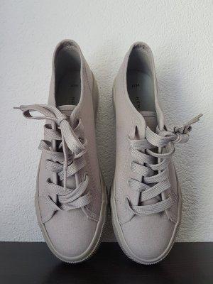 New Look Sneaker grigio chiaro Lino