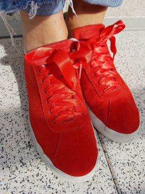 Sneaker aus Velourleder Gr.38 H&M