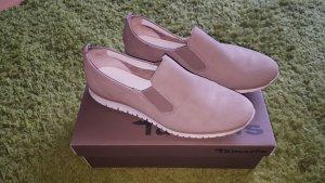Sneaker beige TAMARIS Gr. 40 Leder + Neu +