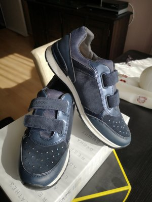 Geox Velcro Sneakers dark blue
