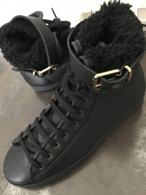Burberry Lace-Up Sneaker black